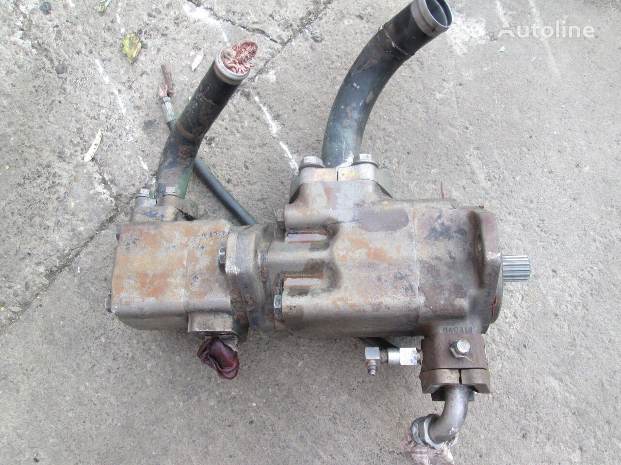 pompa hydrauliczna Denison C5V10 do ładowarki kołowej