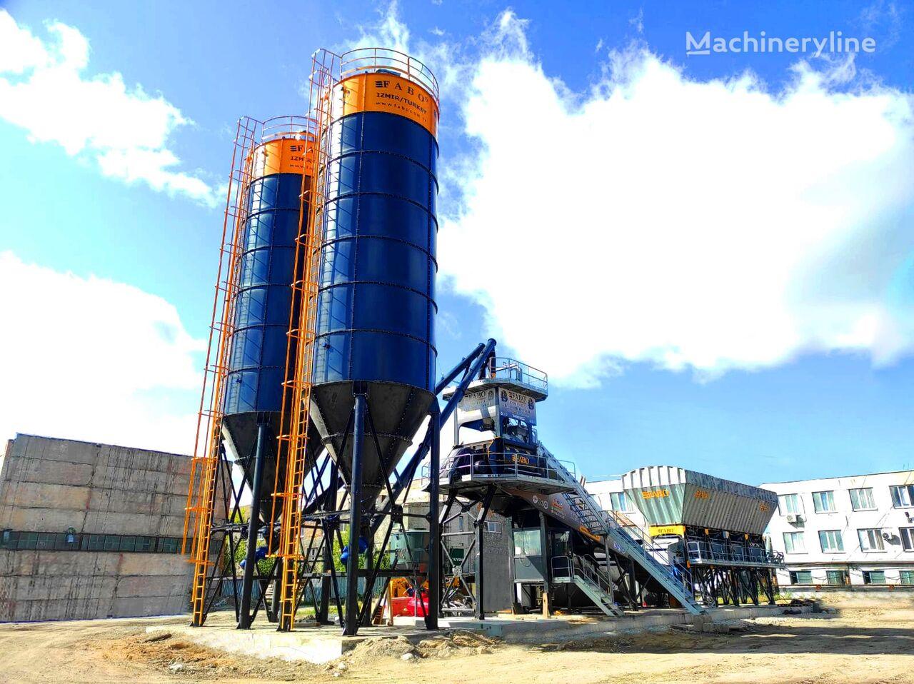 nowa betoniarnia FABO COMPACT-120 CONCRETE PLANT   CONVEYOR TYPE