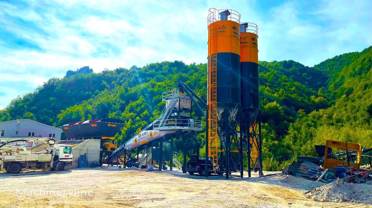 nowa betoniarnia FABO FABOMIX COMPACT-110 CONCRETE PLANT | CONVEYOR TYPE