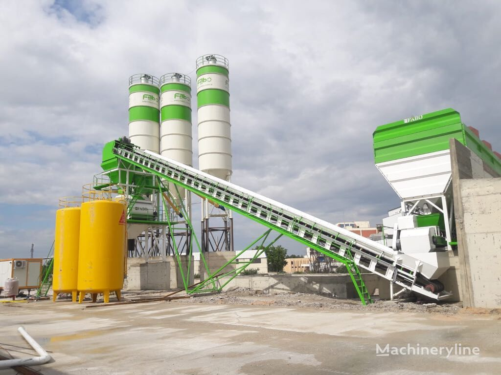 nowa betoniarnia FABO POWERMIX-160 STATIONARY TYPE CONCRETE PLANT WITH 160 M3/H CAPACI