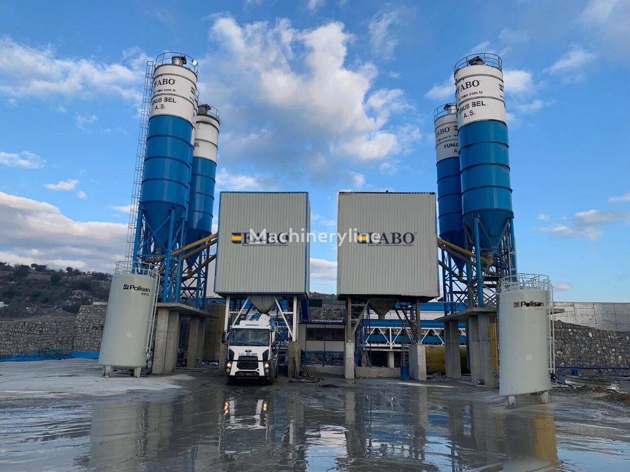 nowa betoniarnia FABO POWERMIX-200 STATIONARY CONCRETE BATCHING PLANT