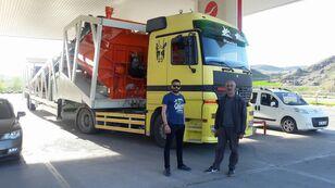 nowa betoniarnia Plusmix PLUSMİX ST120-TWN Double Chassis -:120m³/hour  Mobile Concrete P