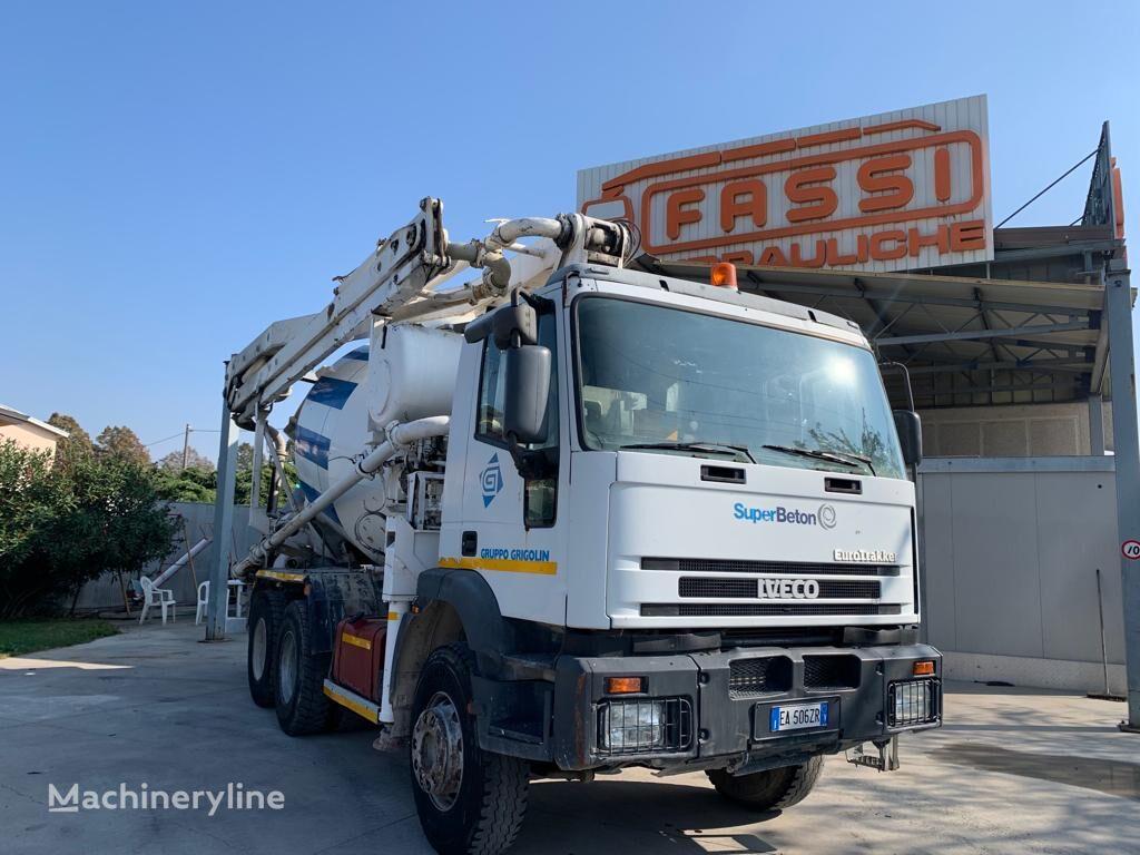 betonomieszarka IVECO Eurotrakker 380E34