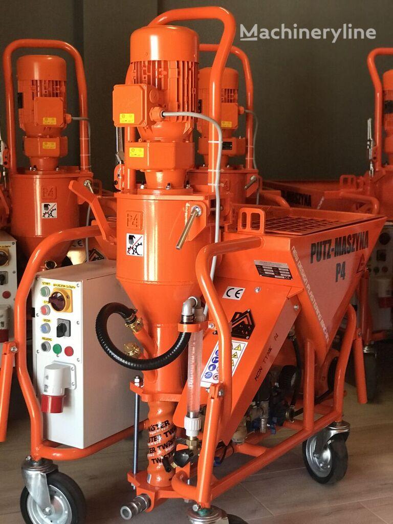 nowy maszyny tynkarskie PUTZ-P4 Agregat tynkarski ,Putzmaschine P4 ,vakológép ,strojova omietack