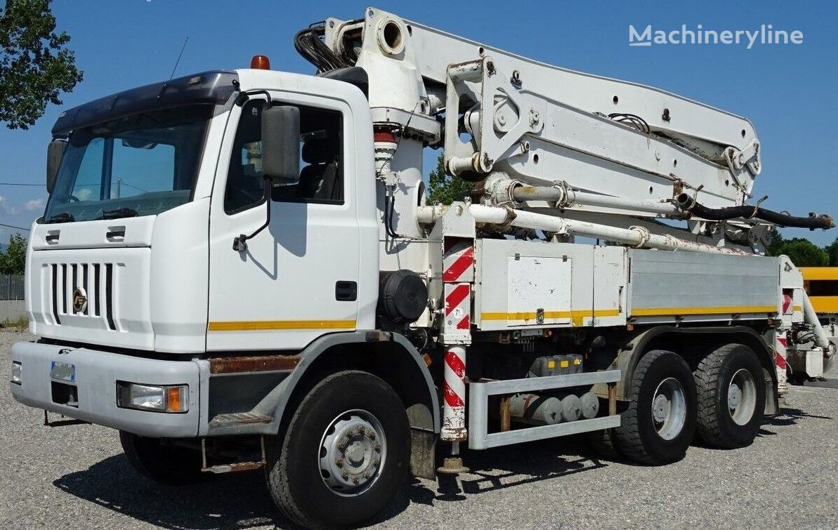 pompa do betonu ASTRA HD7, Putzmeister 28m, Euro 5