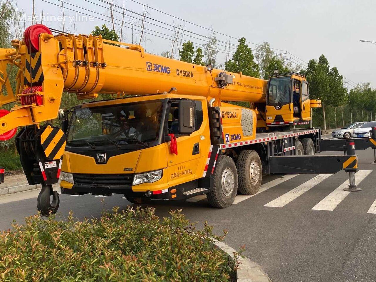 żuraw samojezdny XCMG QY50KA used crane
