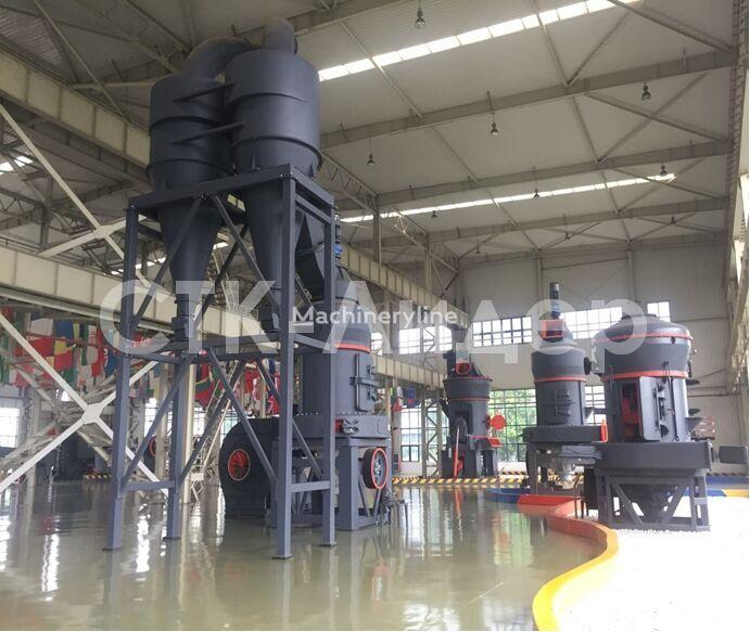 nowy młyn trapezowy MTW 110 (3.5-10 t/ch)