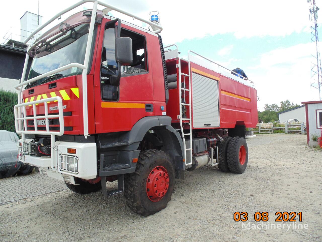 samochod pożarniczy IVECO Eurotrakker 190E30 4x4