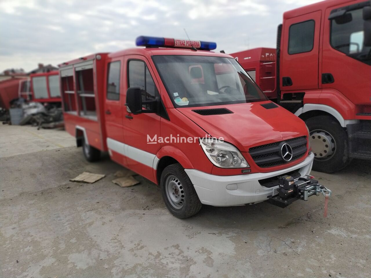 samochod pożarniczy MERCEDES-BENZ Sprinter G0311DE, 7 miejsc