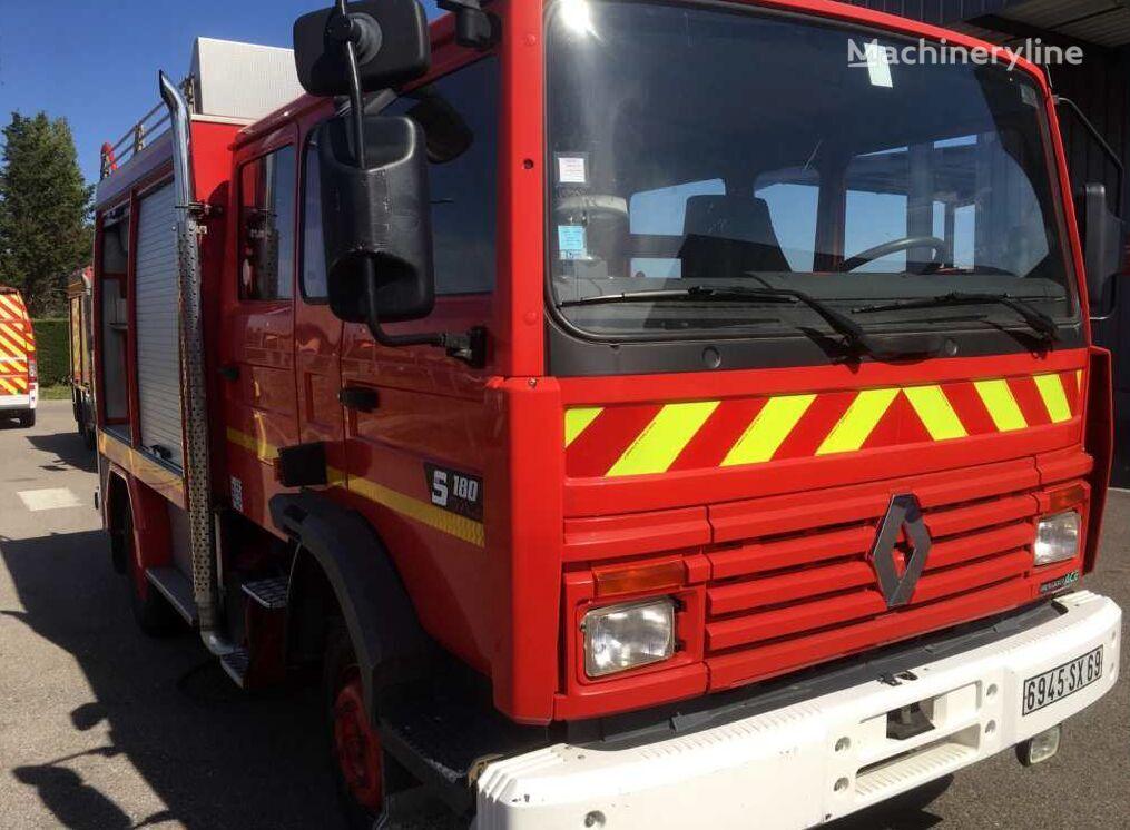 samochod pożarniczy RENAULT Midliner 180, 6 miejsc