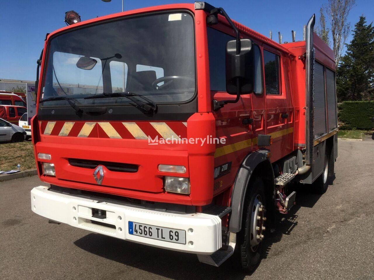 samochod pożarniczy RENAULT Midliner 210, 8 miejsc