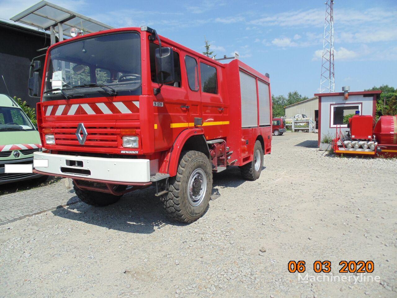 samochod pożarniczy RENAULT Midliner M170, 4x4, 7 miejsc