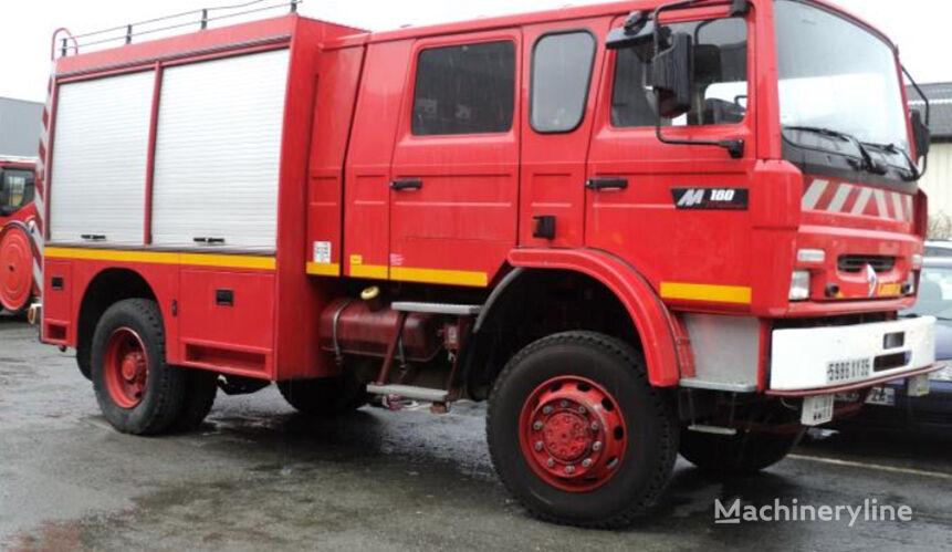 samochod pożarniczy RENAULT Midliner M180D, 4x4, 7 miejsc