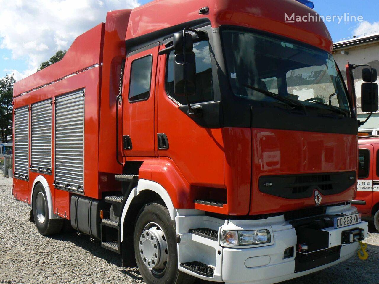 samochod pożarniczy RENAULT Premium, 6 miejsc