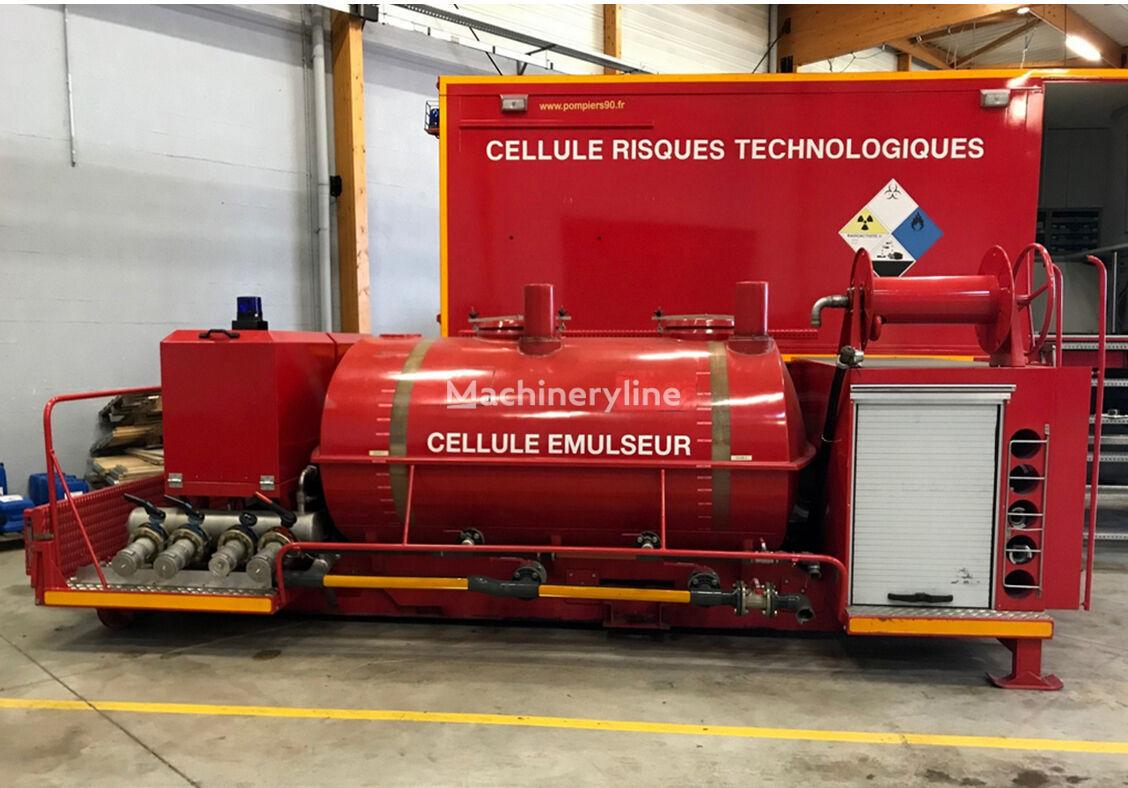 sprzęt pożarniczy Urządzenie zbiornik pożarniczy Cellule Salamandra