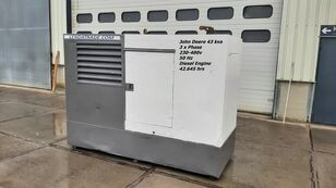 generator diesel JOHN DEERE LSA 43.2S2 Silent 3 x Phase 43kva